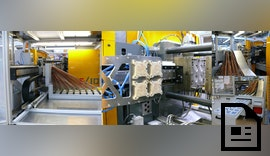 High-Speed-Entnahme und Qualitätskontrolle von Dünnwandspritzgußteilen