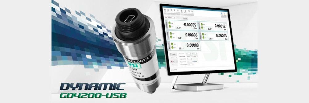 Drucktransmitter USB 📊 mit Analyse-Software
