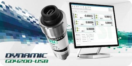 USB-Drucktransmitter mit Analyse-Software 📊