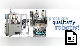 Werkstückprüfung und Qualitätssicherung im Sekundentakt mit Scara-Roboter