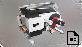 Dauerhafte, flexible Folienbeschriftung mit dem Folienhandlingsystem FoilStar