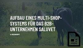 Aufbau eines Multi-Shop-Systems für das Unternehmen SaluVet