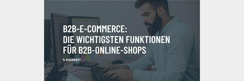 Diese B2B-Funktionen sollten in keinem Online-Shop für Geschäftskunden fehlen