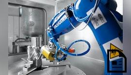 YASKAWA & Klaaßen - Automatisiertes Entgraten & Anfasen von Verzahnungsbauteilen