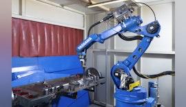 Roboterschweißzelle von YASKAWA mit eingebauter Flexibilität bei MAHA