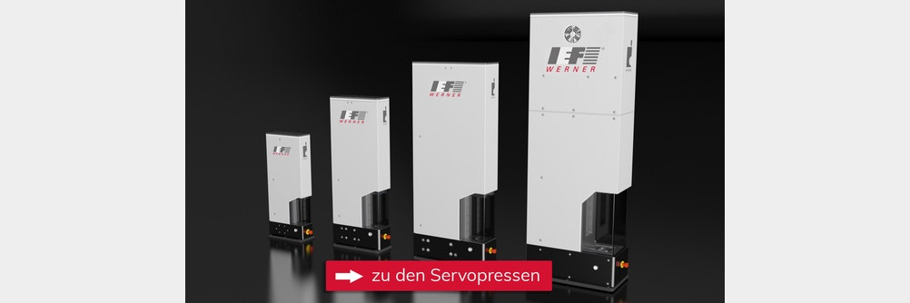 Servopressen für sichere und reproduzierbare Fügeverbindungen bis 100 kN