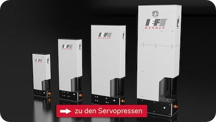 Servopressen sicher und reproduzierbar bis 100 kN