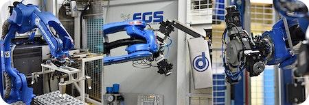 Intelligente Roboterautomation einer Werkzeugmaschine ➡️  Vollautomatisch zu höherem Output