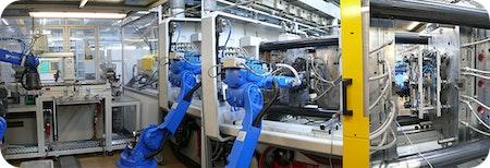 Automation Zahn ⚙️ um Zahn ⚙️ - Zwei Fertigungskonzepte in einer Anlage