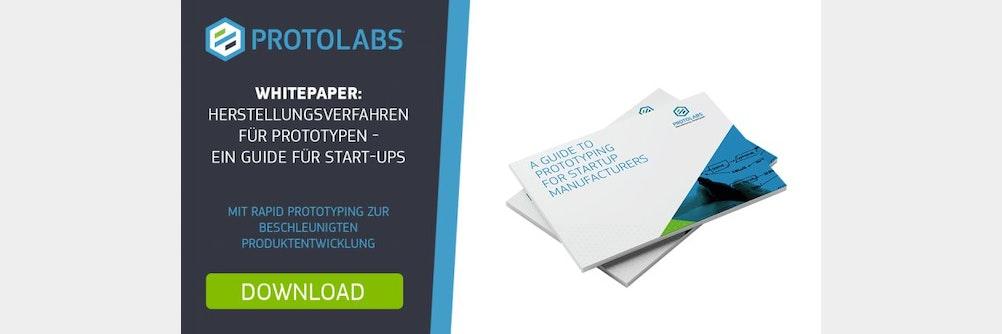 Mit Rapid Prototyping zur beschleunigten Produktentwicklung für Start-ups