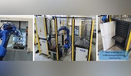 Roboter und Palettiersysteme automatisieren ⏱ Werkzeugmaschine mit großer Autonomie