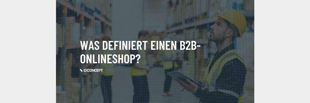 Was definiert einen #B2B-Onlineshop?