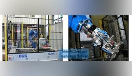 Automation im Flow✔️: Vollautomatische Herstellung eines Kunststoffhybridbauteils für die Durchflussmesstechnik