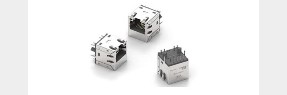 Würth Elektronik mit neuen RJ45-10G-LAN-Übertragern