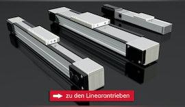 Linearantriebe für Reinräume bis ISO Klasse 1