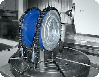 Neu: Kettenspanner von KIPP für Werkstücke mit unregelmäßigen Konturen