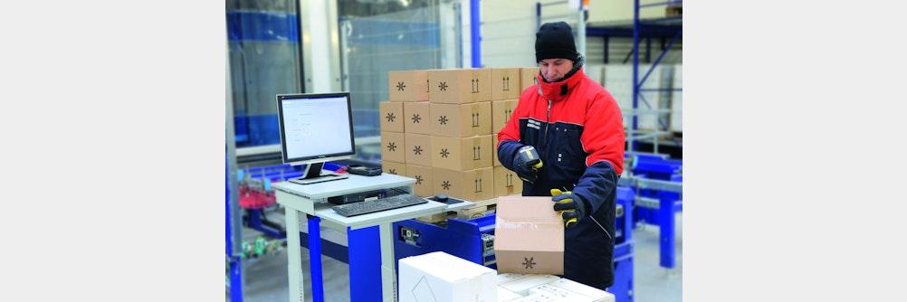 viastore modernisiert Tiefkühllager von Logistikdienstleister Americold