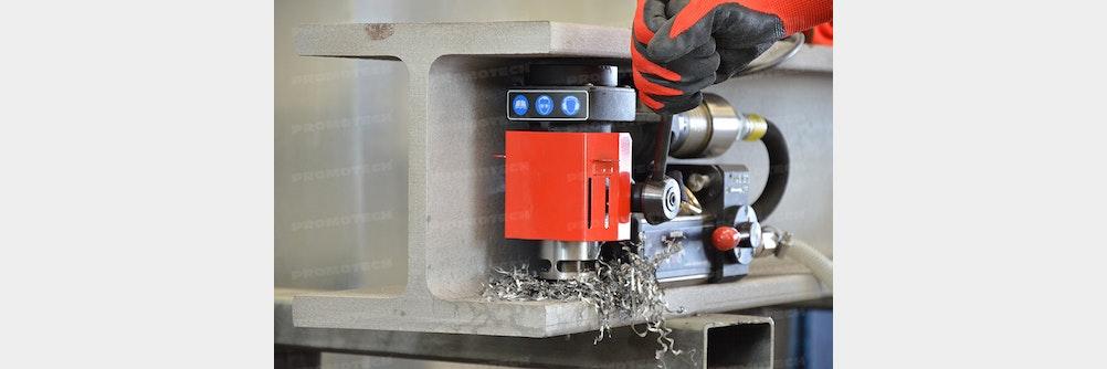 Druckluft-Kernbohrmaschine mit Magnetsockel | PRO 35 ADA ATEX