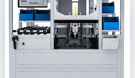 Messen & Pressen auf vollautomatischem Arbeitsplatz mit servoelektrischem Fügemodul