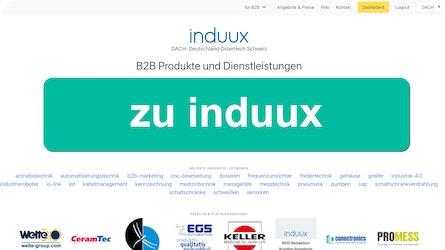 indux mit zwei u ▷ B2B Plattform