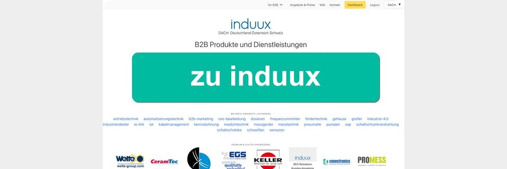 induxx ▷ B2B Plattform