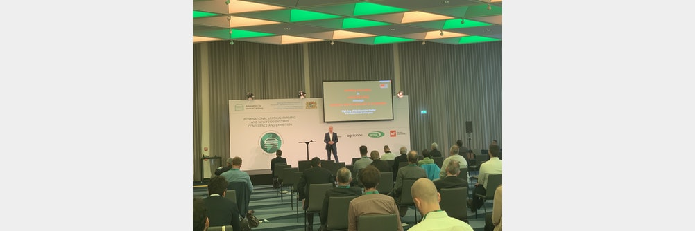 Würth Elektronik bei der International Vertical Farming & New Food Systems Conference and Exhibition