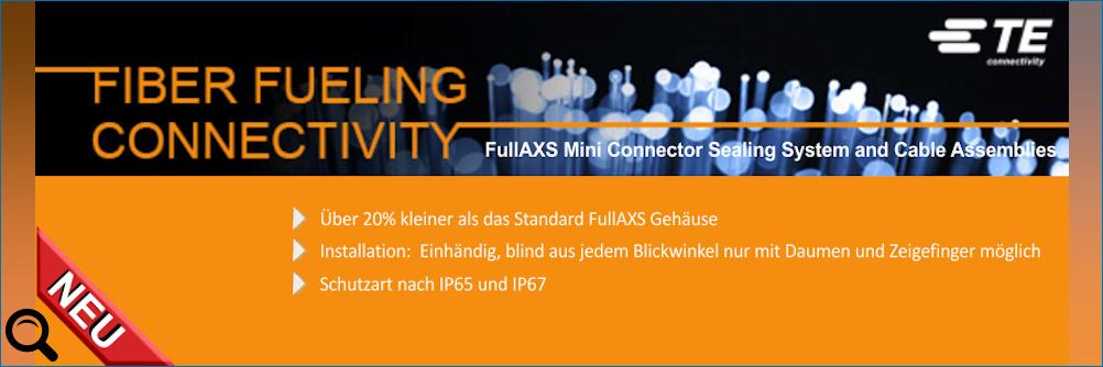 FullAXS Mini Steckverbinderabdichtungssystem und Kabelkonfektion