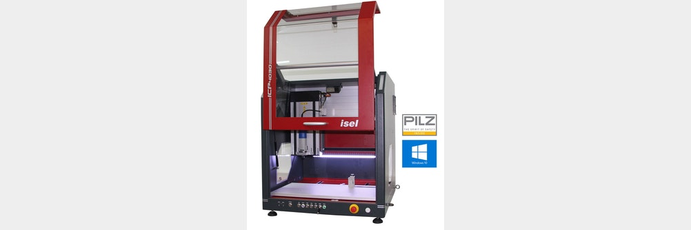 CNC Maschine ICV   im völlig neuen Design!