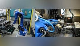 ⏳ Automatisierung einer 🔄 Drehmaschine mit Industrieroboter