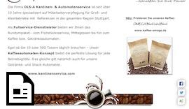 Mitarbeiterverpflegung | Kaffee | Kaffeekonzepte