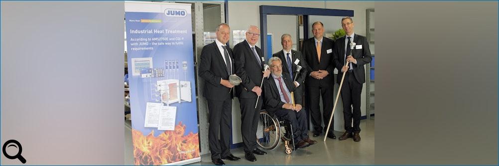 JUMO eröffnet neues Fertigungsgebäude in Belgien