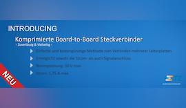 Komprimierte Board-to-Board Steckverbinder - Zuverlässig & Vielseitig