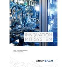Gronbach Unternehmensbroschüre