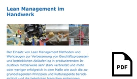 Lean Management im Handwerk