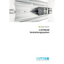 Katalog 2018 LÜTZE AirSTREAM Verdrahtungssystem
