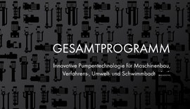 Pumpentechnik Gesamtprogramm