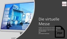 Aufgabe und Sinn der virtuellen Onlinemesse