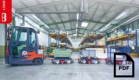 Rollcart Routenzug Logistikoptimierung Katalog