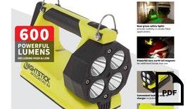 INTEGRITAS™ Eigensichere wiederaufladbare Lampe m/Magnetfuß