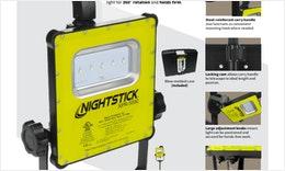 XPR-5592GX Eigensicheres wiederaufladbares LED-Arbeitsleuchten-Kit
