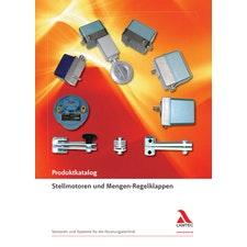 Stellmotoren und Mengen-Regelklappen