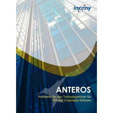 Produktbroschüre zum PIM-System/Crossmedia-Software ANTEROS