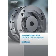 Getriebekopfserie RH-N - Kompakte Präzisionsgetriebe