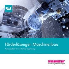 Kreiselpumpen für den Maschinenbau von Schmalenberger