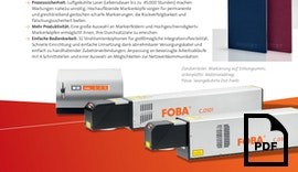 Laserbeschrifter - FOBA C.0101/C.0301