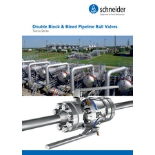 Taurus Series I Double Block & Bleed Pipeline Ball Valves