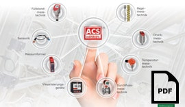 ACS-CONTROL-SYSTEM GmbH Imagebroschüre