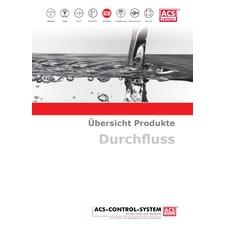 ACS-CONTROL-SYSTEM GmbH Durchflussmesstechnik