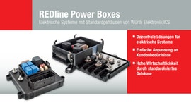 Produktbroschüre REDline Power Boxes von Würth Elektronik ICS