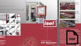 """Produktflyer """"CNC Maschinen in Industriequalität"""""""
